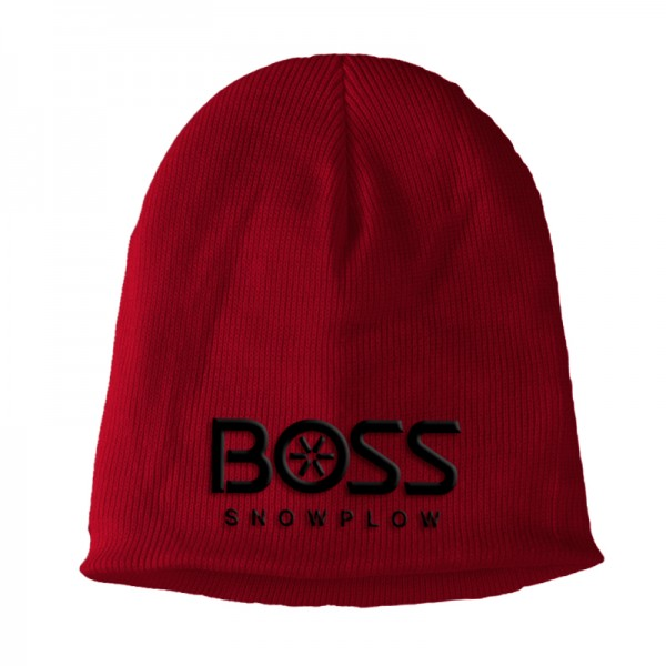 The Boss Red Beanie